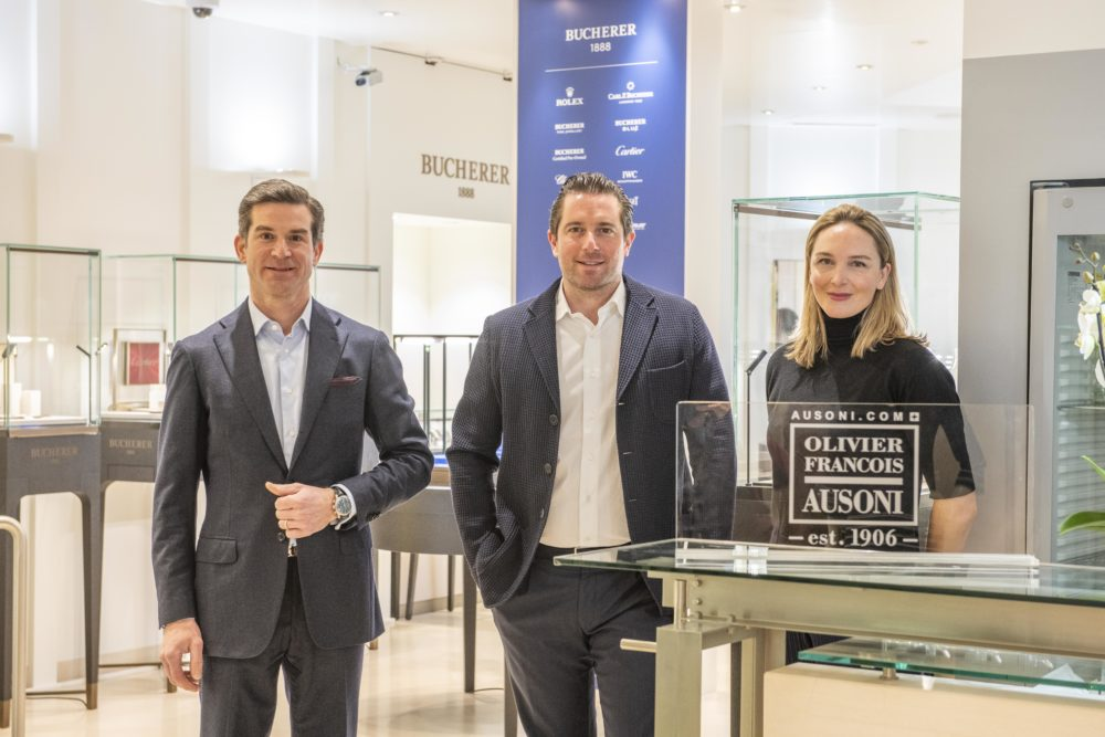 OF AUSONI welcomes BUCHERER